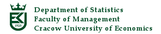 Department of Statistics Faculty of Management Cracow University of Economics